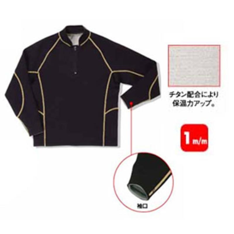 FIELDX-TREAMER FX-644 チタンジップアップジャケット M ブラック