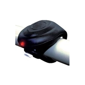フジキン 1LEDシリコンサイクルライト・テール(FJK-267T-1) ブラック YD-592