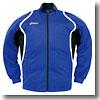 【送料無料】アシックス(asics) デコトレーニングジャケット L 45(ブルー) XAT10D