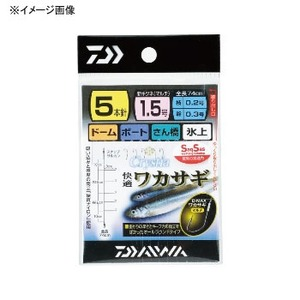 ダイワ(Daiwa) クリスティア 快適ワカサギ仕掛けSS マルチ 針1.5ハリス0.2 07114423