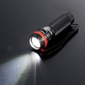 キャプテンスタッグ(CAPTAIN STAG)雷神 パワーチップ型LEDライト(ワイド&スポット)