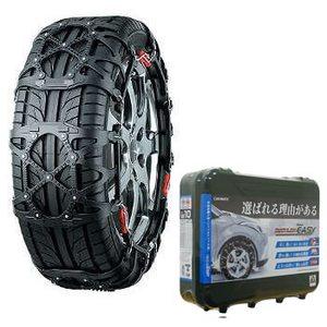 【送料無料】カーメイト(CAR MATE) 非金属タイヤチェーン バイアスロン・クイックイージー 簡単取り付け QE12L ブラック