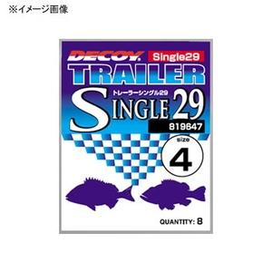 カツイチ(KATSUICHI) DECOY トレーラーシングル シングル29