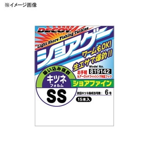 カツイチ(KATSUICHI) DECOY ショアファイン SG-3 M レッド