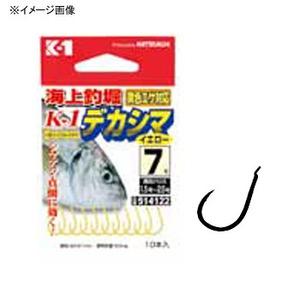 カツイチ(KATSUICHI) 海上つり堀 K1デカシマ 8号 イエロー