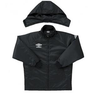 【送料無料】UMBRO(アンブロ) UAA4010 ウォーマージャケット XO BLK(ブラック)
