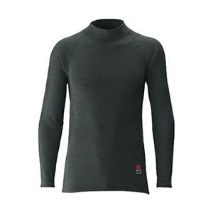 シマノ(SHIMANO) IN-021K ブレスハイパー+度 ストレッチハイネックアンダーシャツ(極厚タイプ) IN-021K ブラック L アンダーシャツ