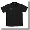 UMBRO(アンブロ) S/S ドライポロシャツ O BLK(ブラック×ホワイト) UBS7201
