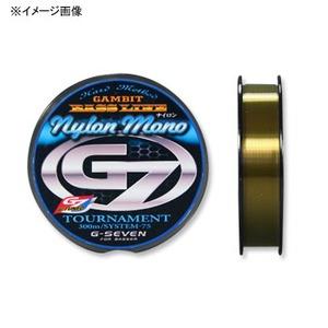 ジーセブン(G-SEVEN) TOURNAMENT GENE(トーナメントジーン)ナイロン 150m 12lb ゴールド GTGN12