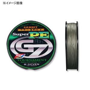 ジーセブン(G-SEVEN) TOURNAMENT GENE(トーナメントジーン)PE X8 75m 15lb シルバー GTGP15
