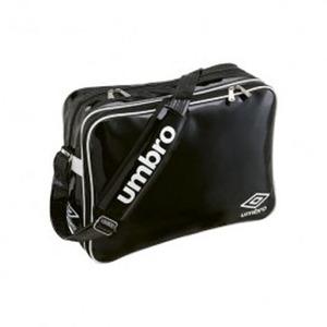 【送料無料】UMBRO(アンブロ) UJS1007 エナメルショルダーL フリー BLK(ブラックxホワイト)