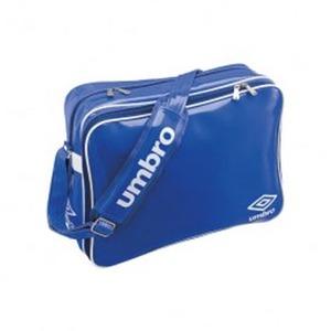 【送料無料】UMBRO(アンブロ) UJS1007 エナメルショルダーL フリー BLU(ブルーxホワイト)