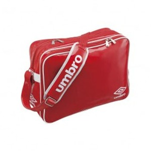 【送料無料】UMBRO(アンブロ) UJS1007 エナメルショルダーL フリー RED(レッドxホワイト)