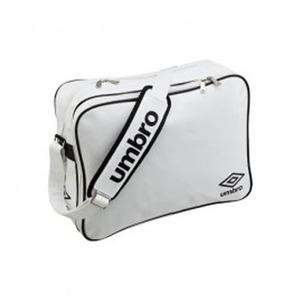 【送料無料】UMBRO(アンブロ) UJS1007 エナメルショルダーL フリー WBK(ホワイトxブラック)