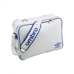 【送料無料】UMBRO(アンブロ) UJS1007 エナメルショルダーL フリー WBU(ホワイトxブルー)