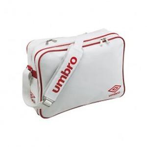 【送料無料】UMBRO(アンブロ) UJS1007 エナメルショルダーL フリー WRD(ホワイトxレッド)