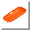 スノーボート タイプ1 引きひも付き ソリ/草遊び/雪遊び/草すべり大オレンジ