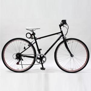 【送料無料】トップワン(TOPONE) MCR266-29-BK 26インチクロスバイク鍵ライト付 ブラック
