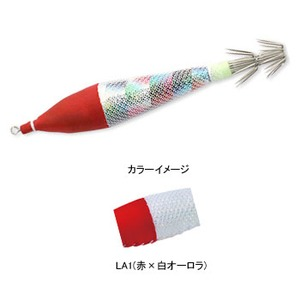 ヨーヅリ(YO-ZURI) [HP]浮スッテカン TM2布巻KT 3.0号 LA1(赤x白オーロラ) A1116-LA1