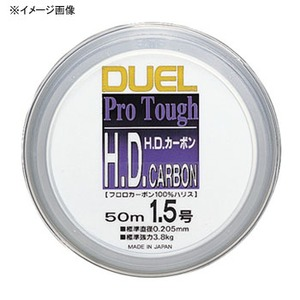 デュエル(DUEL) H.D.カーボン 50m 1.0号 クリアー H808