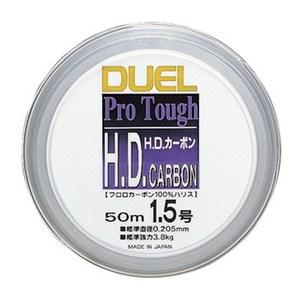 デュエル(DUEL) H.D.カーボン 50m 1.5号 クリアー H809
