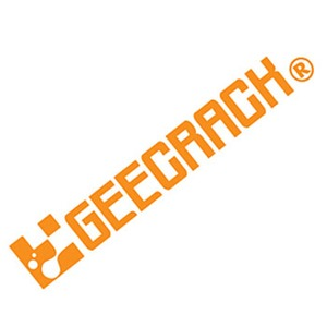 GEECRACK(ジークラック)ロゴステッカー300