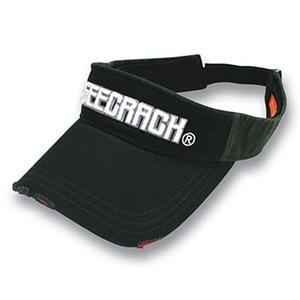 GEECRACK(ジークラック) ダメージサンバイザー フリー ブラック GEE-SU02D
