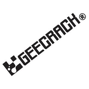 GEECRACK(ジークラック) ロゴステッカー 400
