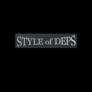 デプス(Deps) スタイルオブデプスカッティングステッカー L シルバー