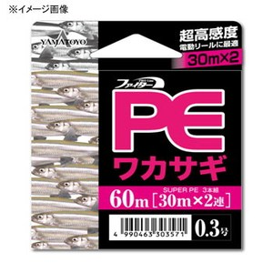 ヤマトヨテグス(YAMATOYO) PEワカサギ 60m 0.2号 ピンク
