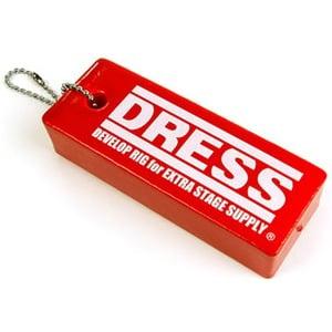ドレス(DRESS) フロートキーホルダー レッド LD-OP-0800