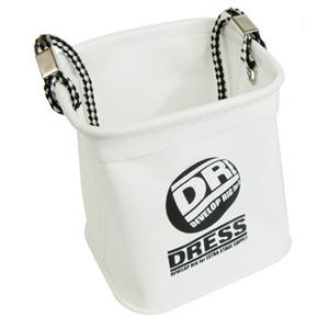 ドレス(DRESS) 水汲みバケツ 小 ホワイトxブラック LD-OP-0910