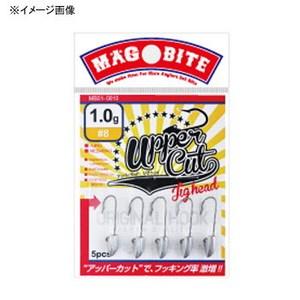 マグバイト(MAGBITE) アッパーカットジグヘッド MB01-0812 ワームフック(ライトソルト用)