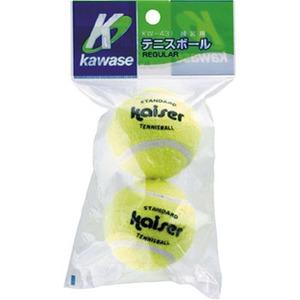 Kaiser(カイザー) 硬式テニスボール2P KW-431