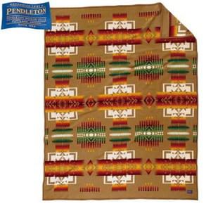 【送料無料】PENDLETON(ペンドルトン) チーフジョセフブランケット カーキ 19373078114000