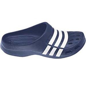 【送料無料】adidas(アディダス) デュラモ クロッグ 24.5cm (G62583)ネイビーxホワイトxネイビー AJP-G62583