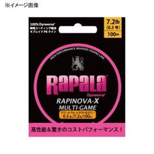 Rapala(ラパラ) ラピノヴァ・エックス マルチゲーム 100m RLX100M04PK