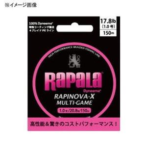 Rapala(ラパラ) ラピノヴァ・エックス マルチゲーム 150m RLX150M06PK オールラウンドPEライン