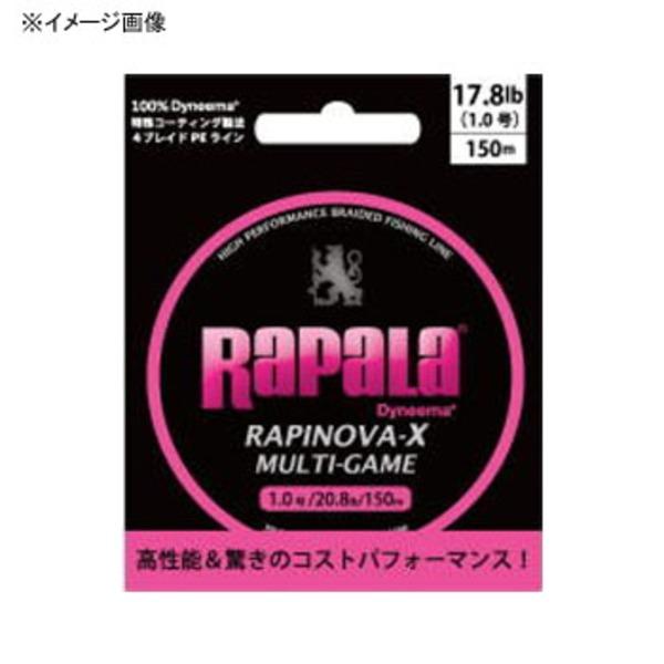 Rapala(ラパラ) ラピノヴァ・エックス マルチゲーム 150m RLX150M08PK オールラウンドPEライン