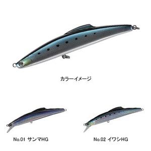 タックルハウス(TACKLE HOUSE) シブキ V159ls 159mm No.01 サンマHG