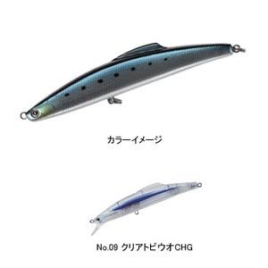 タックルハウス(TACKLE HOUSE) シブキ V159ls 159mm No.09 クリアトビウオCHG