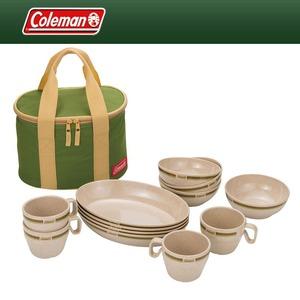 Coleman(コールマン) ナチュラルディッシュ テーブルウェアセット