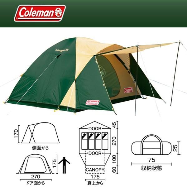 Coleman(コールマン) BCクロスドーム270 2000012866 ファミリードームテント