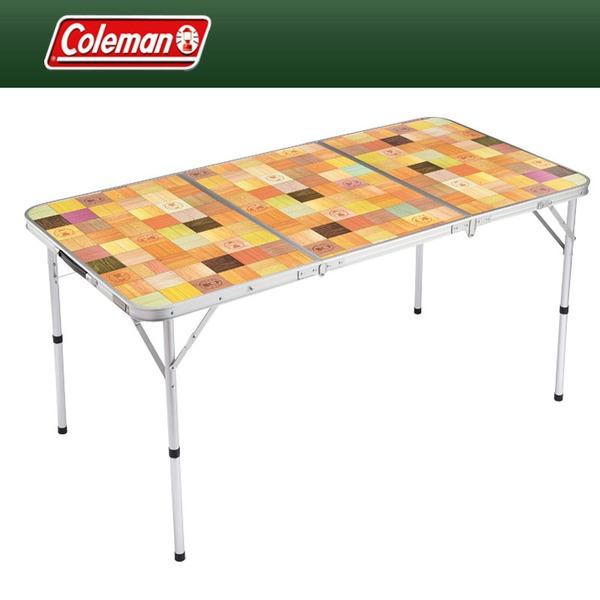 Coleman(コールマン) ナチュラルモザイクリビングテーブル/140 2000013121 キャンプテーブル