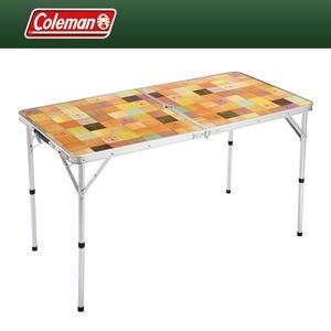 Coleman(コールマン) ナチュラルモザイクリビングテーブル/120