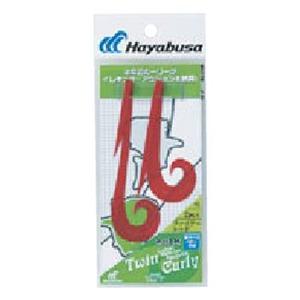 ハヤブサ(Hayabusa)無双真鯛 フリースライド カスタムシリコンネクタイ ツインカーリー