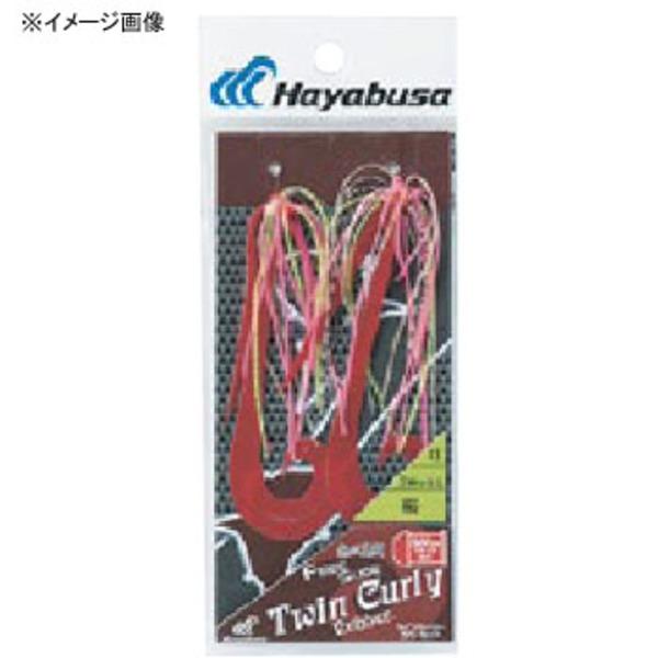 ハヤブサ(Hayabusa) 無双真鯛 フリースライド ツインカーリー ラバーセット SE134 タイラバネクタイ・トレーラー
