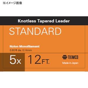 ティムコ(TIEMCO) リーダースタンダード 12フィート 4X ステルスグレー