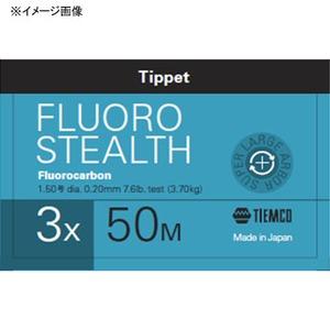 ティムコ(TIEMCO) フロロステルス ティペット 50m 1X ステルスグレー