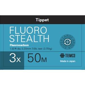 ティムコ(TIEMCO) フロロステルス ティペット 50m 3.5X ステルスグレー